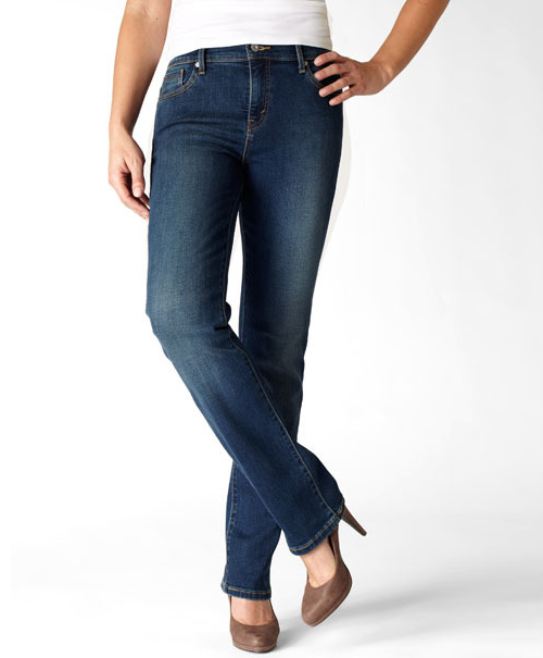 512 Perfectly Slimming Straight Leg Jeans