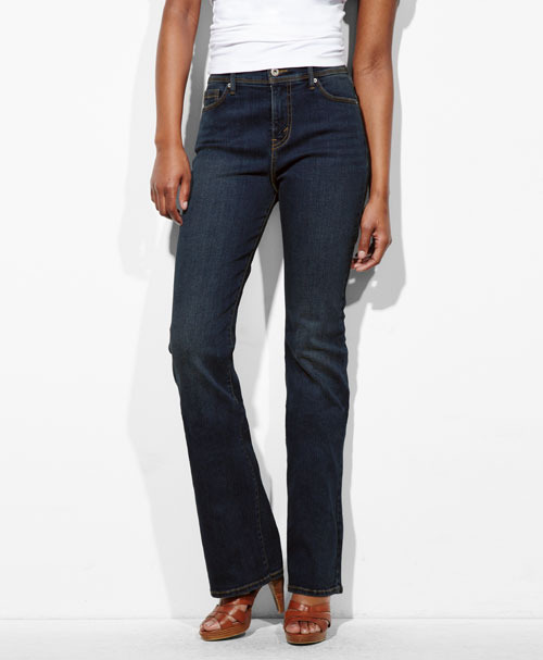 512™ Perfectly Slimming Boot Cut Jeans Indigo Rinse