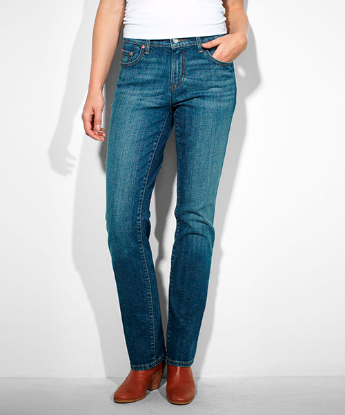 Levis 505 jeans women color  155050034 Studio Blue