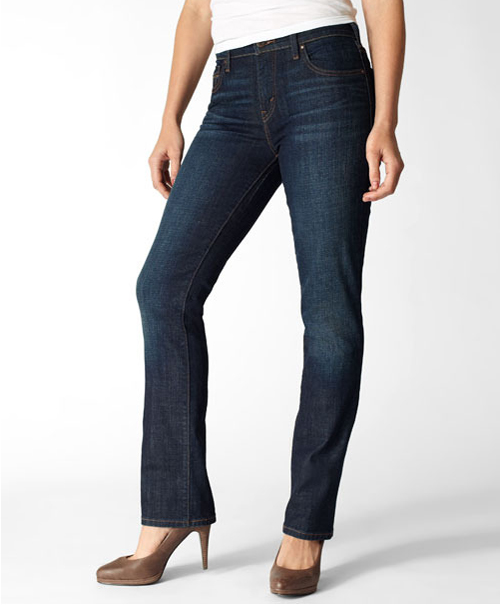 Levis 505® Straight Fit Jeans Worn In