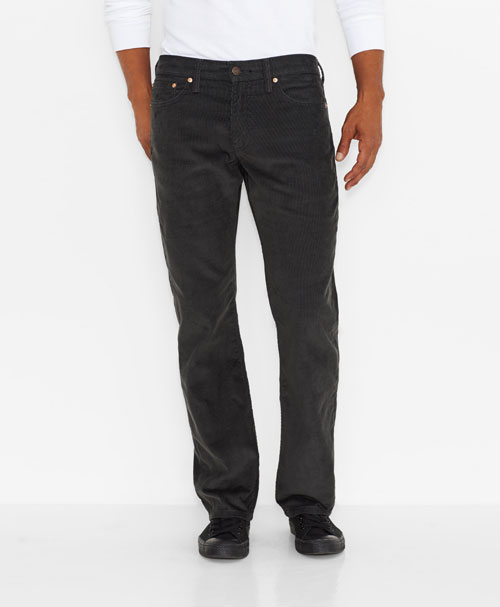 Levis  514™ Straight Fit Corduroy Pants Graphite