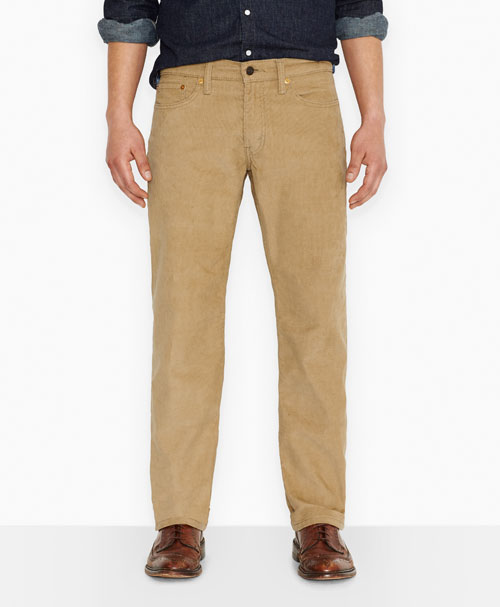 Levis  514™ Straight Fit Corduroy Pants Graphite Chino