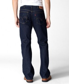 517® Slim Boot Cut Jeans 005170216 Rinsed Indigo 2