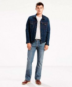 SLIM BOOT CUT JEANS BEDSIDE BLUES  055270527