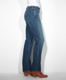 Levis 505 jeans women color  155050034 Studio Blue_Left_500x607