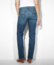 Levis 505 jeans women color  155050034 Studio Blue_back00x607