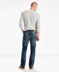 LEVIS 527  BOOT CUT INDIGO BLACK