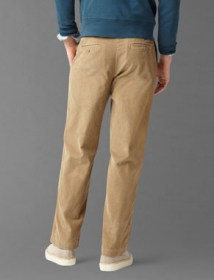 Saturday Khaki, Classic Fit - New British Khaki Corduroy 49919 back