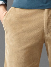 Saturday Khaki, Classic Fit - New British Khaki Corduroy 49919 pocket