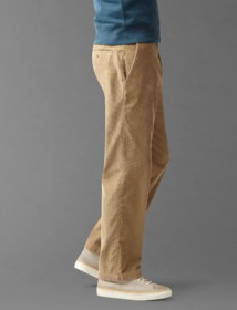 Saturday Khaki, Classic Fit - New British Khaki Corduroy 49919 side
